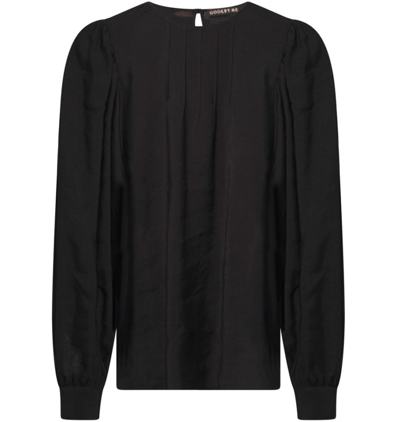 *W.Puff sleeve front