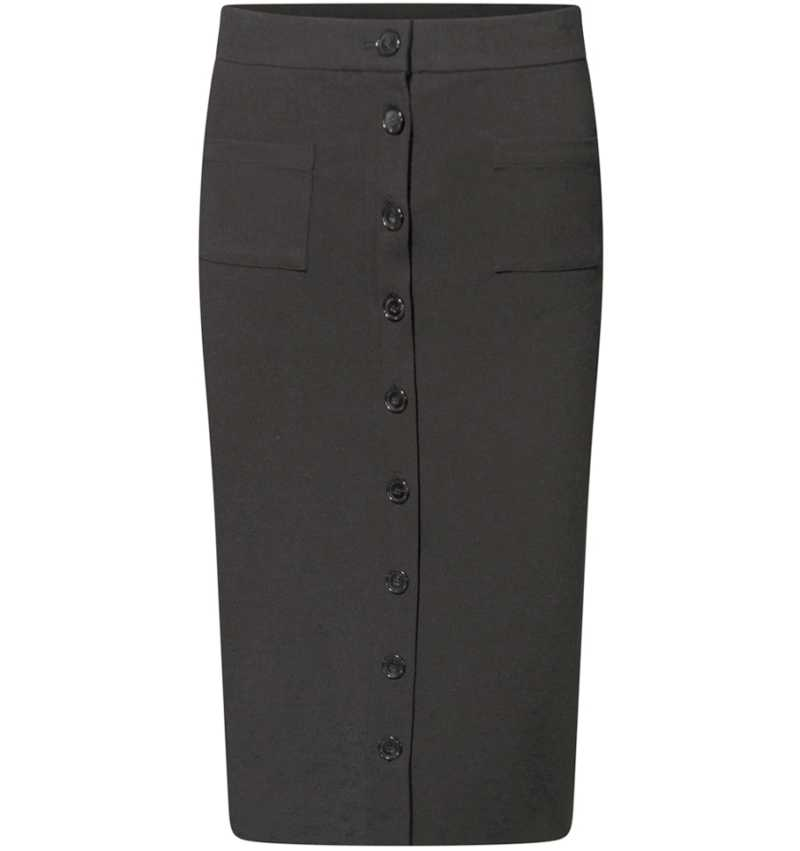 *W.Skirt buttons front